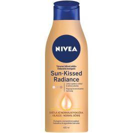 Nivea Sun Kissed Radiance tónovací tělové mléko pro světlou až normální pokožku 400 ml