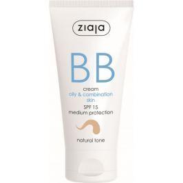 Ziaja BB SPF 15 krém mastná a smíšená pleť 02 Natural 50 ml