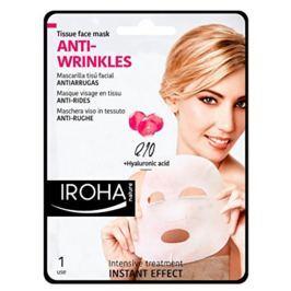 Iroha Anti-Wrinkles Látková maska proti vráskám s koenzymem Q10 a kyselinou hyaluronovou 23 ml