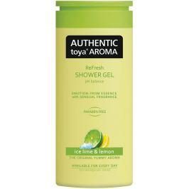 Authentic Toya Aroma Ice Lime & Lemon aromatický sprchový gel 400 ml