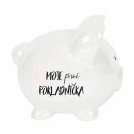 Albi Pokladnička prasátko velké perleťové První pokladnička 13 cm