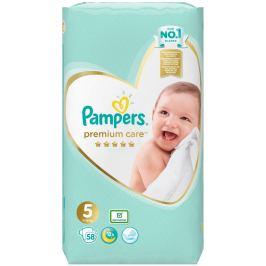 Pampers Premium Care 5 Junior 11-16 kg plenkové kalhotky 58 kusů