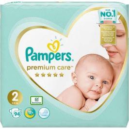 Pampers Premium Care 2 Mini 4-8 kg plenkové kalhotky 94 kusů