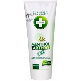 Annabis Menthol Arthro chladivý masážní gel 200 ml