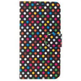 FIXED na Apple iPhone XR - motiv Rainbow Dots (FIXFIT-334-RAD)