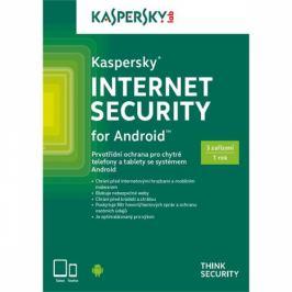 Kaspersky Internet Security ANDROID 3 licence na 1 rok (KL1901OBCFS-CZ)