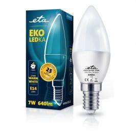 ETA EKO LEDka svíčka 7W, E14, teplá bílá (C37W7WW)