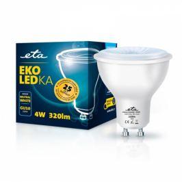 ETA EKO LEDka bodová 4W, GU10, neutrální bílá (GU10W4NW)