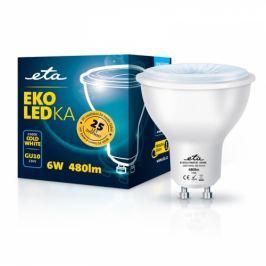 ETA EKO LEDka bodová 6W, GU10, studená bílá (GU10W6CW)