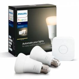 Philips Bluetooth 9W, E27, White (2ks) + Bridge (8718696785218)