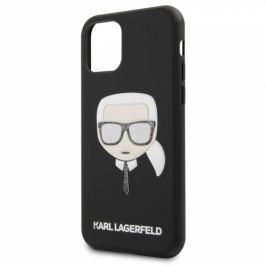 Karl Lagerfeld Embossed Glitter na Apple iPhone 11 (KLHCN61GLBK)