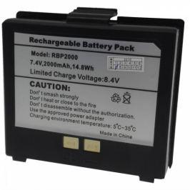 Náhradní LI-ION baterie 2000mAh k přenosným tiskárnám PTP-II a PTP-III  (SBA)
