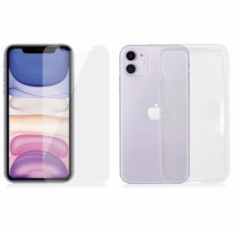 PanzerGlass na Apple iPhone 11 + kryt na mobil Clear Case (B2662)