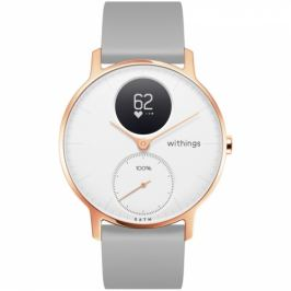 Withings Steel HR (36 mm) Rose Gold (36white-RG-S-Grey)