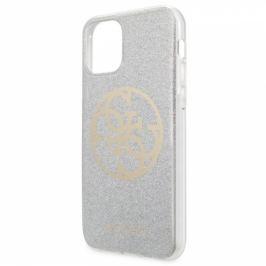 Guess 4G Glitter Circle na iPhone 11 Pro Max (GUHCN65PCUGLLG)