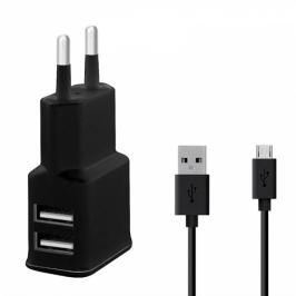 WG 2xUSB,2,4A + Micro USB kabel (4312)