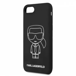 Karl Lagerfeld Ikonic na Apple iPhone 8/SE (2020) (KLHCI8SILFLWBK)