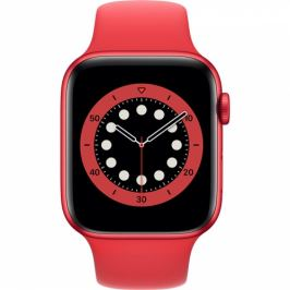 Apple GPS 40mm pouzdro z hliníku PRODUCT(RED) - PRODUCT(RED) sportovní náramek (M00A3HC/A)