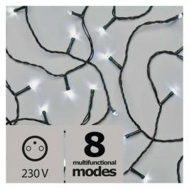 EMOS 180 LED, řetěz, 18m, studená bílá, programy (1534215900)