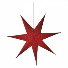 EMOS vánoční hvězda papírová červená, 75cm (1534224900)