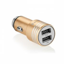 GoGEN kovový bezpečnostní hrot, 2x USB (CHH25G)