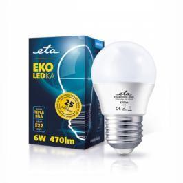 ETA EKO LEDka mini globe, 6W, E27, teplá bílá (G45-PR-323-16A)