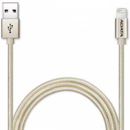 ADATA Sync & Charge USB/Lightning, 1m, MFi, opletený (AMFIAL-100CMK-CGD)