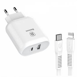 Baseus Travel Charger Bojure series USB-C PD, USB QC 3.0, 32W (TZTUN-BJ02)