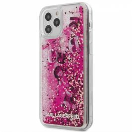 Karl Lagerfeld Liquid Glitter Charms na Apple iPhone 12/12 Pro (KLHCP12MROPI)