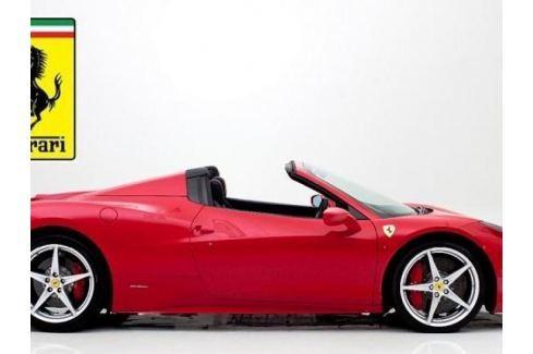 Zážitek - Pronájem Ferrari 458 Spider - Praha Půjčení supersportu