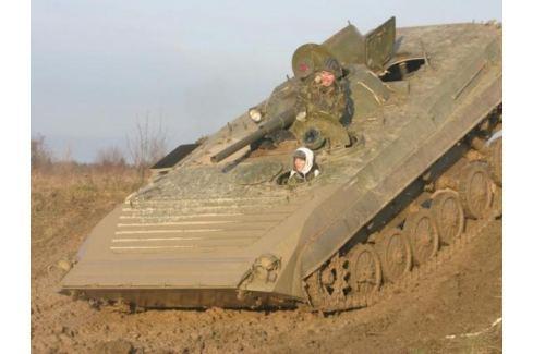 Zážitek - Řízení bojového vozu BVP - Středočeský kraj Jízda tankem