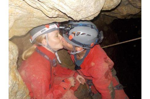 Zážitek - Rande v jeskyni - Jihomoravský kraj Lezení