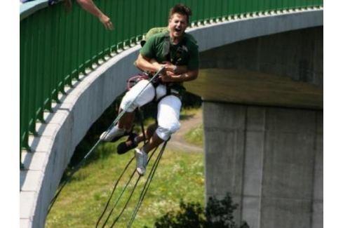 Zážitek - Bungee jumping - Kieneova houpačka - Ústecký kraj Bungee jumping
