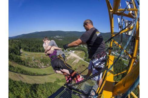 Zážitek - Bungee jumping z televizní věže - Liberecký kraj Bungee jumping