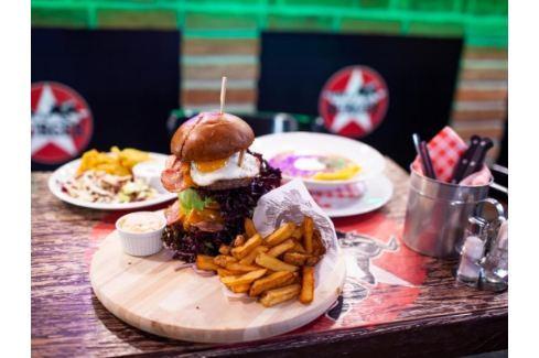 Zážitek - Hamburgerová výzva - Praha Degustace jídla a alkoholu