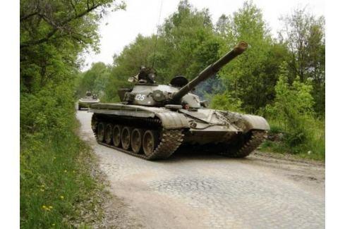 Zážitek - Bojový tank T-55 nebo T-72 - Středočeský kraj Jízda tankem