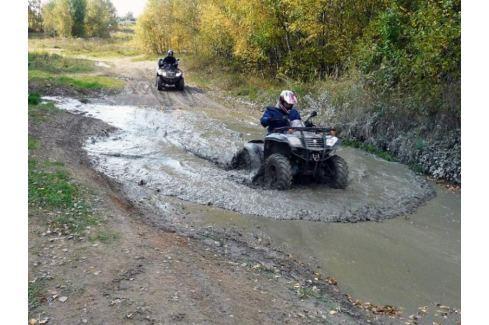 Zážitek - Extrémní jízda na čtyřkolce - Vysočina Čtyřkolky