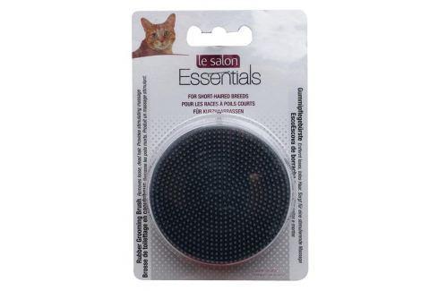 Kartáč LE SALON Essentials gumový kulatý Kosmetika a úprava koček