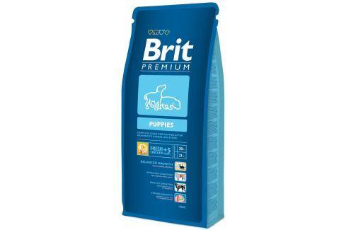 BRIT Premium Puppies 15kg Pro štěňata
