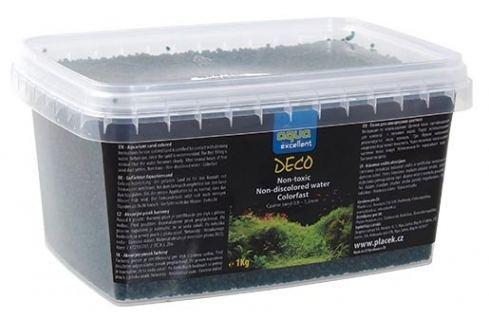 Písek AQUA EXCELLENT zelený smaragdový 1kg Akvarijní písky