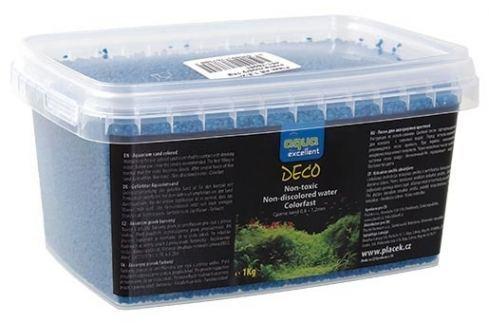 Písek AQUA EXCELLENT světle modrý 1kg Akvarijní písky