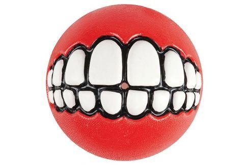 Hračka ROGZ míček Grinz červený S Hračky pro psy