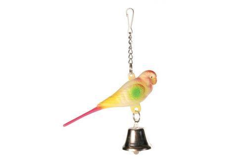 Hračka ptáček umělý Trixie 9cm Hračky pro ptáky