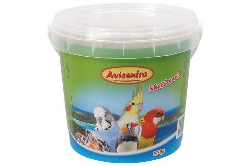 Písek AVICENTRA s drcenými mušlemi 1,5kg Krmivo a vitamíny pro ptáky