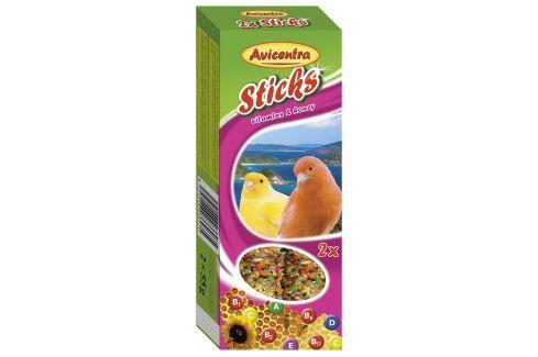 Tyčinky AVICENTRA vitamínovo - medové pro kanáry 2ks Krmivo a vitamíny pro ptáky