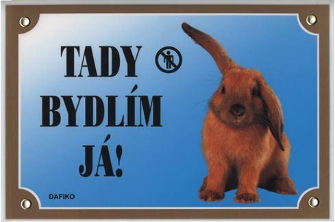 Dafiko Tabulka králík Cedulky