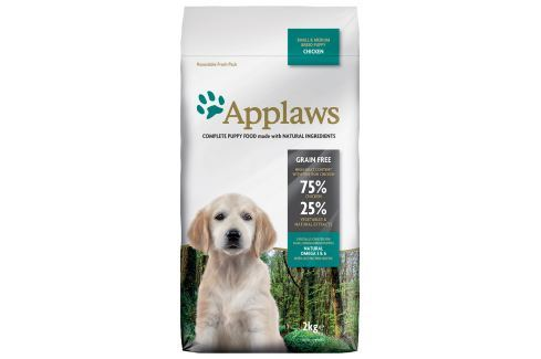 Krmivo Applaws Dry Dog Chicken Small & Medium Breed Puppy 2kg Pro štěňata