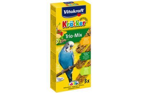 Kracker VITAKRAFT Sittich Banana + Kiwi + Fig 3ks Krmivo a vitamíny pro ptáky