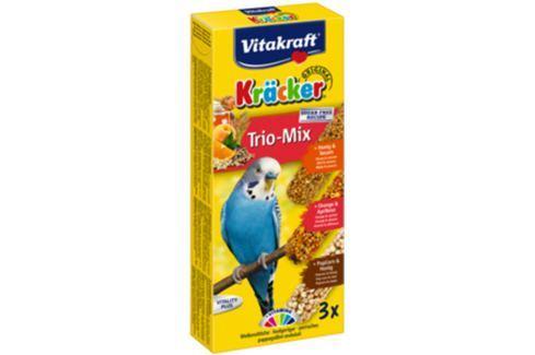 Kracker VITAKRAFT Sittich Combi 3ks Krmivo a vitamíny pro ptáky