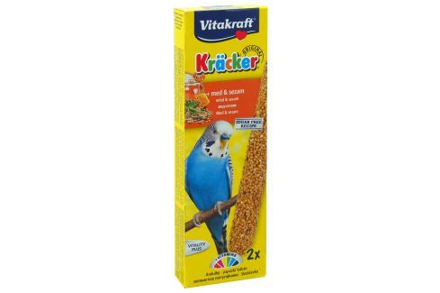 Kracker VITAKRAFT Sittich Honey 2ks Krmivo a vitamíny pro ptáky